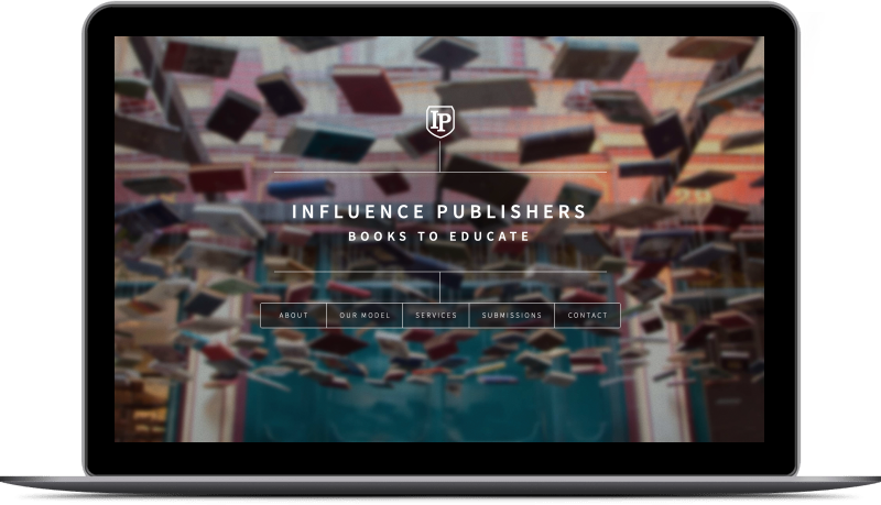 Influence Publishers shield with IP inside